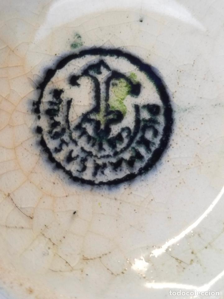 Antigüedades: antiguo juego de cafe de 6 tazas y seis platos, sellados pickman - Foto 6 - 265681414
