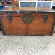Antigüedades: BAUL ALCANFOR. Lote 265749749