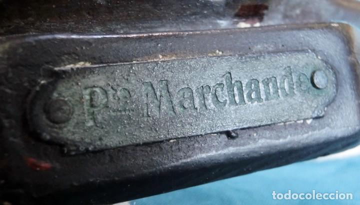 Antigüedades: ANTIGUA Y PRECIOSA PAREJA DE FLOREROS MODERNISTAS - NUMERADOS - JARRONES ART NOUVEAU - FRANCESES - Foto 12 - 265802304