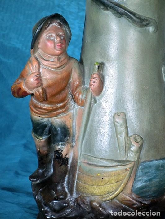 Antigüedades: ANTIGUA Y PRECIOSA PAREJA DE FLOREROS MODERNISTAS - NUMERADOS - JARRONES ART NOUVEAU - FRANCESES - Foto 25 - 265802304