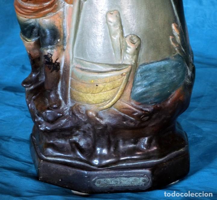 Antigüedades: ANTIGUA Y PRECIOSA PAREJA DE FLOREROS MODERNISTAS - NUMERADOS - JARRONES ART NOUVEAU - FRANCESES - Foto 26 - 265802304
