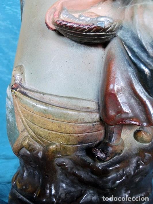 Antigüedades: ANTIGUA Y PRECIOSA PAREJA DE FLOREROS MODERNISTAS - NUMERADOS - JARRONES ART NOUVEAU - FRANCESES - Foto 34 - 265802304