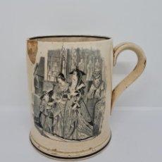 Antiquités: DE COLECCION,GRAN TAZA DE LA FABRICA DE LA AMISTAD DE CARTAGENA,(MURCIA). Lote 265851949