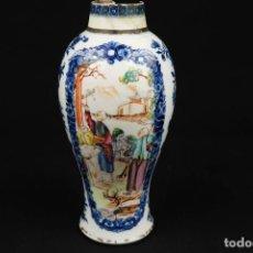 Antigüedades: ANTIGUO JARRÓN DE PORCELANA CHINO. Lote 266000568
