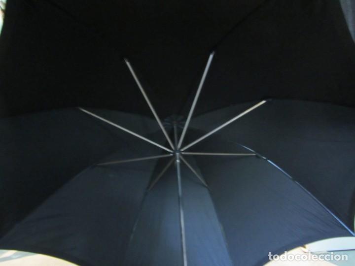 Antigüedades: Paraguas GF y C, madera y asta de hombre - Foto 10 - 266087363