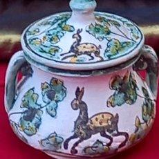 Antigüedades: CERAMICA ANTIGUA DE PUENTE DEL ARZOBISPO ( TOLEDO ). Lote 266160668