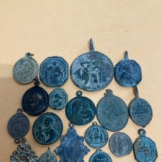 Antiguidades: LOTE DE ANTIGUAS MEDALLAS SIGLOS XVII - XVIII.. Lote 266305608
