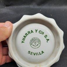 Antigüedades: CENICERO DE LA CARTUJA DE SEVILLA PICKMAN. Lote 266345498