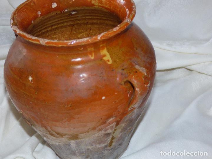 Antigüedades: Orza,barro catalán. - Foto 2 - 266391333