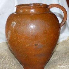 Antigüedades: JARRA DE BARRO,CATALÁN.. Lote 266392433
