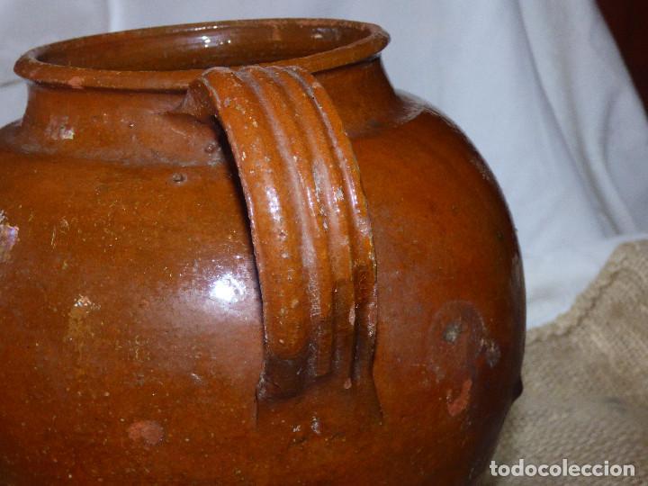 Antigüedades: Jarra de barro,catalán. - Foto 2 - 266392433
