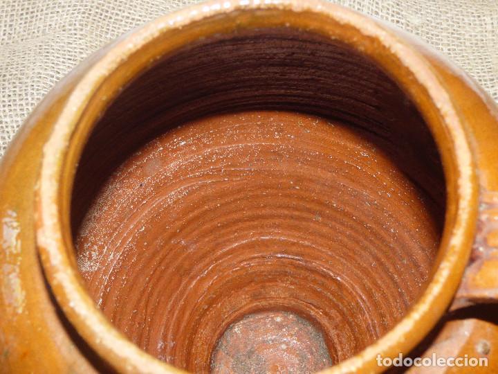 Antigüedades: Jarra de barro,catalán. - Foto 5 - 266392433