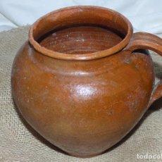 Antigüedades: JARRA DE BARRO,CATALÁN.. Lote 266392738