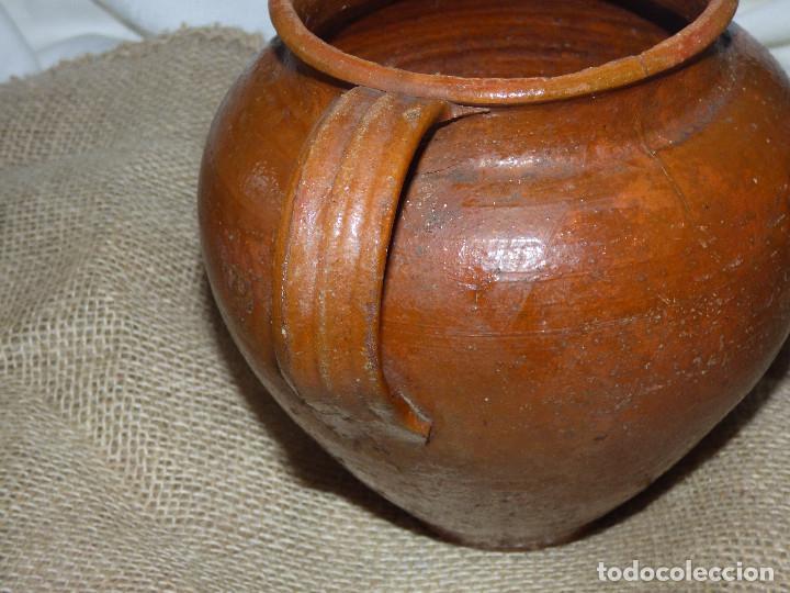 Antigüedades: Jarra de barro,catalán. - Foto 2 - 266392738