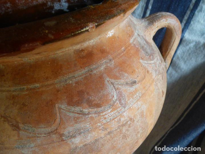 Antigüedades: Orza de barro ,catalán. - Foto 2 - 266394458