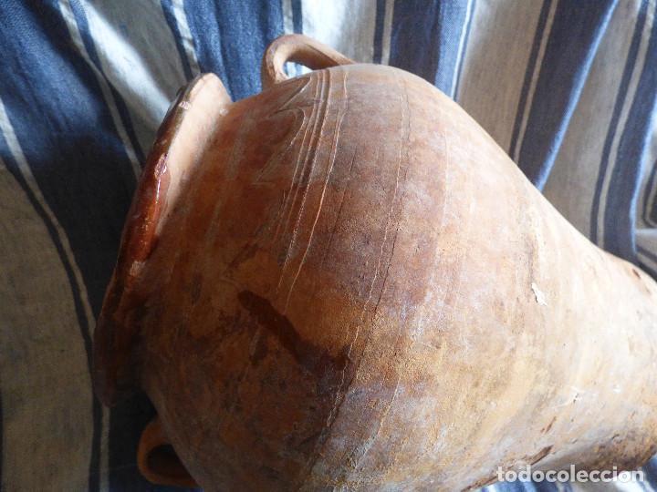 Antigüedades: Orza de barro ,catalán. - Foto 7 - 266394458