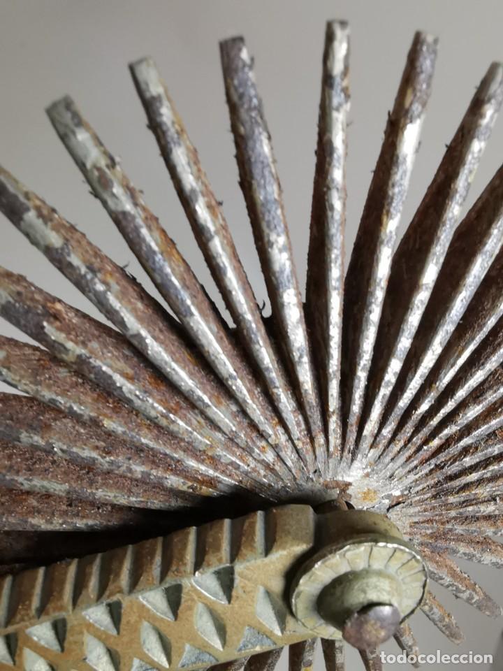 Antigüedades: ANTIGUAS ESPUELAS DE GALA EN BRONCE Y RULINA DE HIERRO FORJADO..P.P.S.XX- SUDAMERICA - Foto 32 - 266506918