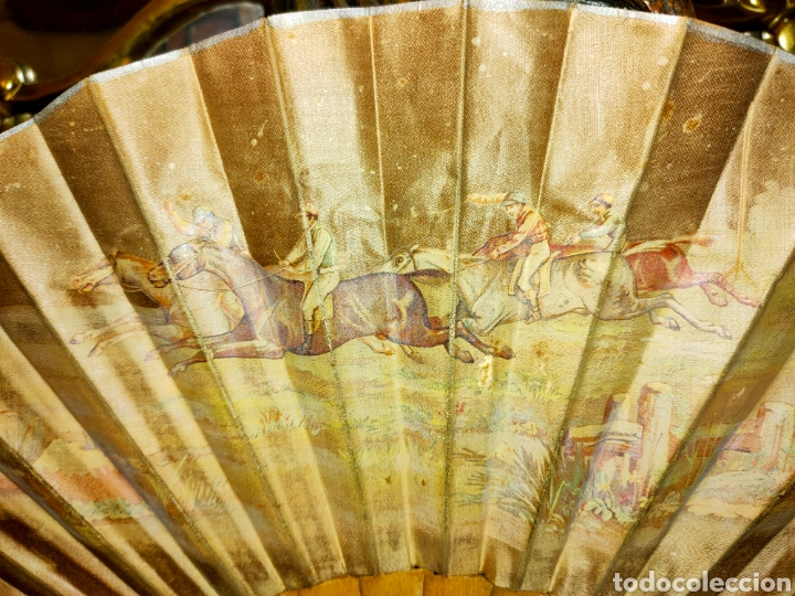 Antigüedades: ABANICO ANTIGUO 1870-1890 - Foto 3 - 266525248