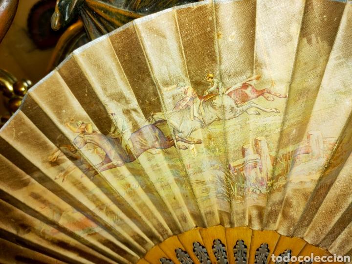 Antigüedades: ABANICO ANTIGUO 1870-1890 - Foto 5 - 266525248