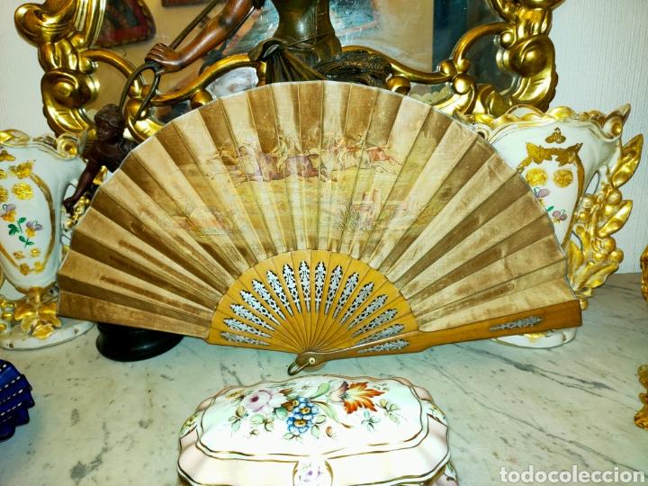 Antigüedades: ABANICO ANTIGUO 1870-1890 - Foto 9 - 266525248