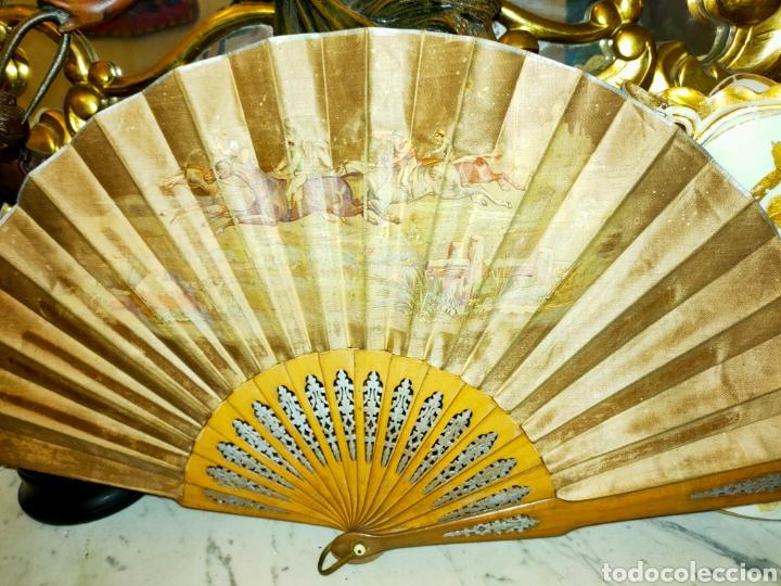 Antigüedades: ABANICO ANTIGUO 1870-1890 - Foto 4 - 266525248