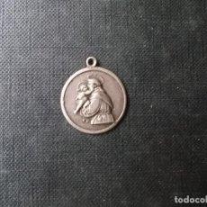 Antiguidades: MEDALLA DE SANT ANTONIO DE PADUA HIERRO. Lote 266557368
