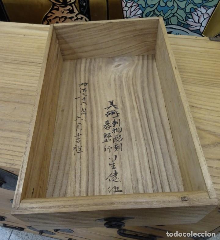 Antigüedades: Tansu antiguo japonés en madera de kiri - Foto 26 - 266580403
