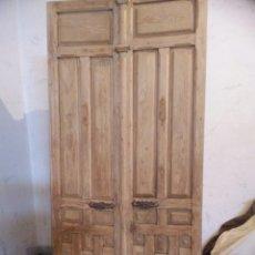 Antigüedades: PAR DE PUERTAS. Lote 266753768
