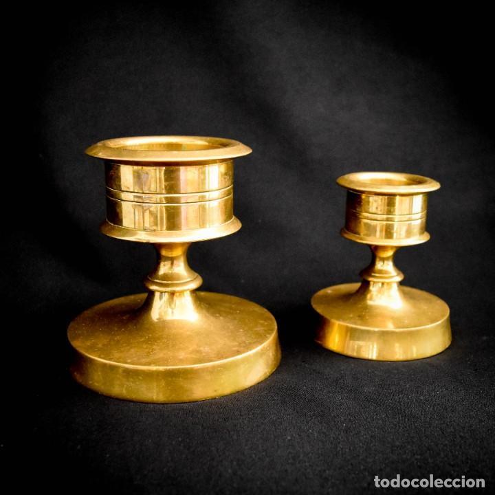 Antigüedades: Candeleros para velones - Foto 2 - 266754573