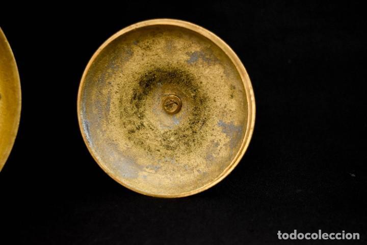 Antigüedades: Candeleros para velones - Foto 3 - 266754573