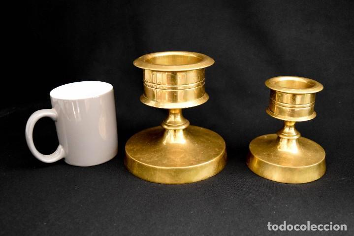 Antigüedades: Candeleros para velones - Foto 4 - 266754573