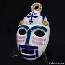 Antigüedades: MÁSCARA DE SARGADELOS. Lote 266766778