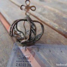Antigüedades: PEQUEÑA CORONA PARA VIRGEN DE FATIMA O SIMILAR. Lote 266769609