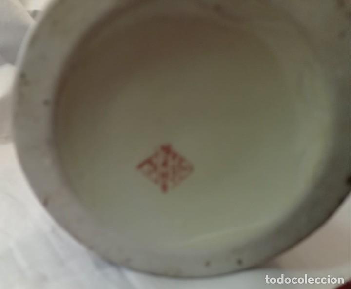 Antigüedades: PAREJA JARRONES CHINOS SELLO ROJO - Foto 10 - 266779914