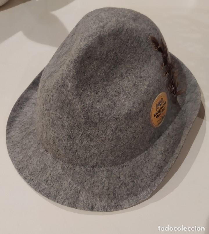 SOMBRERO ALEMAN OKTOBERFEST (Antigüedades - Moda - Sombreros Antiguos)