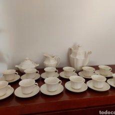 Antigüedades: JUEGO DE CAFÉ LA CARTUJA DE SEVILLA. 12 SERVICIOS. COMPLETA . SERIE 16.. Lote 266860209