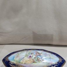 Antigüedades: GRAN JOYERO DE PORCELANA SEVRES, SIGLO XIX. Lote 266977164