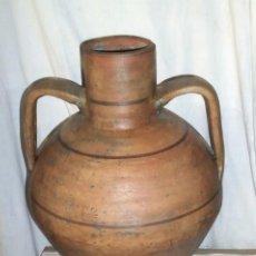 Antigüedades: ANTIGUO CÁNTARO, TERRACOTA, PARA AGUA, DE FRAGA, HUESCA, 1ª ÉPOCA. Lote 266981549