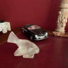 Antigüedades: RENE LALIQUE, PAJARO VIDRIO.. Lote 267205444