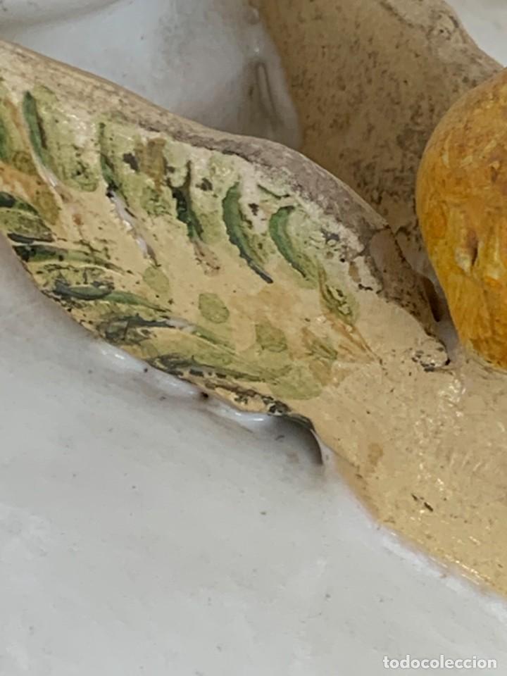 Antigüedades: JARRON DECORATIVO ANDALUCIA CERAMICA VIDRIADA VARIOS ANGELES BODA SIMILAR AJUAR ANDUJAR JAEN 44X21C - Foto 11 - 267236629