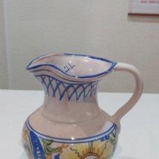 Antigüedades: IMPRESIONANTE JARRA ANTIGUA DE MANISES FIRMADA.. J. L. Lote 267364324