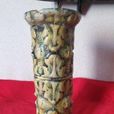 Antigüedades: ANTIGUO JARRON DE BARRO. Lote 267375999