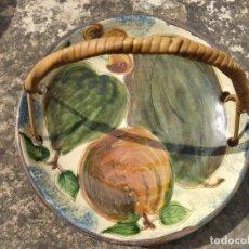 Antigüedades: ANTIGUO FRUTERO DE CERAMICA DE LA BISBAL PUIGDEMONT. Lote 267438789