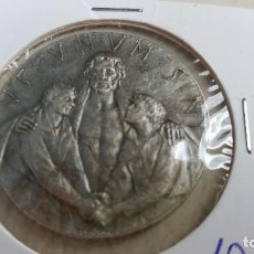 Antigüedades: ANTIGUO COLGANTE MEDALLA JESÚS UT UNUM SINT AÑO SANTO 1975 ROMA VATICANO. Lote 267441664