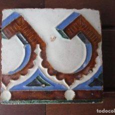 Antigüedades: AZULEJO MUY ANTIGUO (TRIANA). Lote 267513669