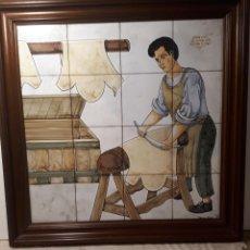 """Antigüedades: CERÁMICA DE TALAVERA. """"CURTIDOR"""".. Lote 267517509"""