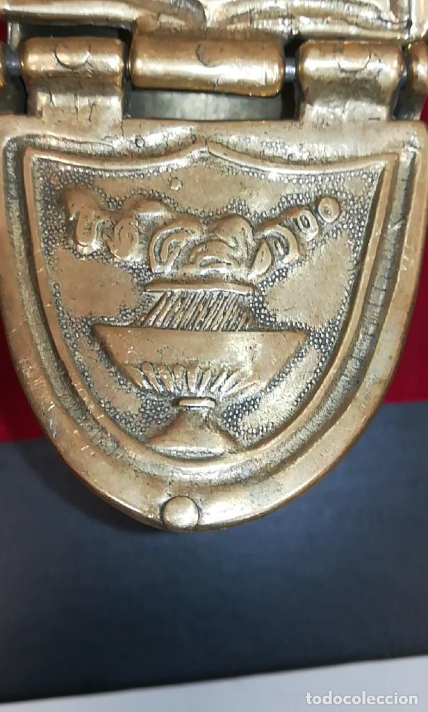 Antigüedades: PRECIOSA NAVETA INCENSARIO BRONCE DORADO. FINALES SIGLO XIX - Foto 2 - 267533954
