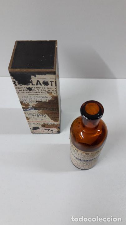 Antigüedades: ANTIGUO MEDICAMENTO SARCOLACTINE ( FUNCIONES DIGESTIVAS ) . LABORATORIO FRANCO - ESPANOL - Foto 4 - 267539349