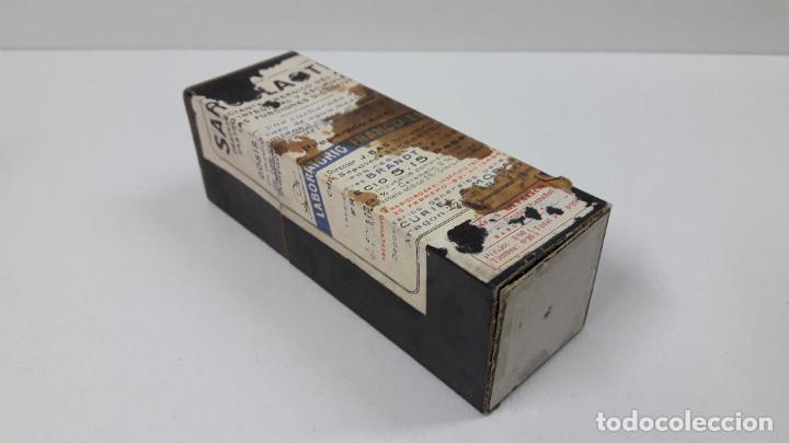 Antigüedades: ANTIGUO MEDICAMENTO SARCOLACTINE ( FUNCIONES DIGESTIVAS ) . LABORATORIO FRANCO - ESPANOL - Foto 6 - 267539349