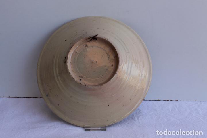 Antigüedades: PAREJA DE PLATOS DE CERAMICA DEL PUENTE DEL ARZOBISPO - Foto 3 - 267543449